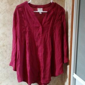 🛍️NWT🛍️ St John's Bay blouse